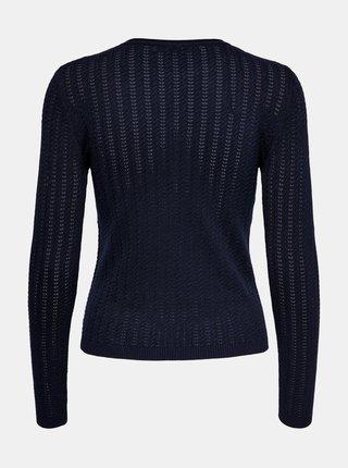 Tmavě modrý lehký svetr ONLY Melba