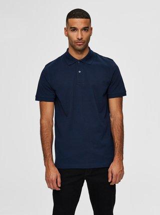Tmavě modré polo tričko Selected Homme Neo
