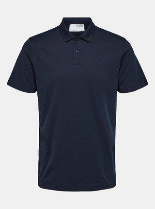 Tmavě modré polo tričko Selected Homme Roy
