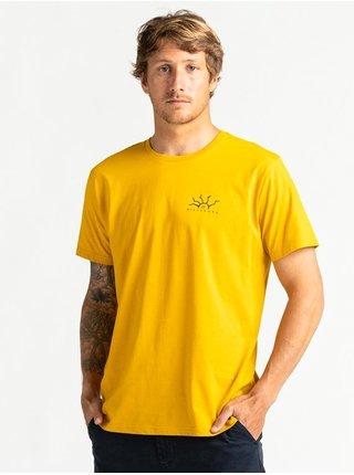 Billabong PELIGROSA MUSTARD pánské triko s krátkým rukávem - žlutá