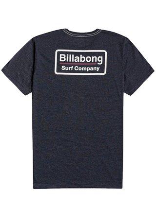 Billabong UTILITY NAVY pánské triko s krátkým rukávem - modrá