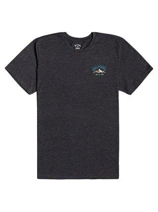 Billabong ARCH PEAK black pánské triko s krátkým rukávem - černá