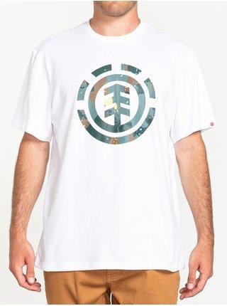 Element WATER CAMO ICON FILL OPTIC WHITE pánské triko s krátkým rukávem - bílá