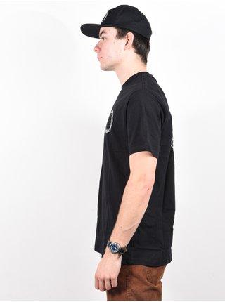RVCA BAKER black pánské triko s krátkým rukávem - černá