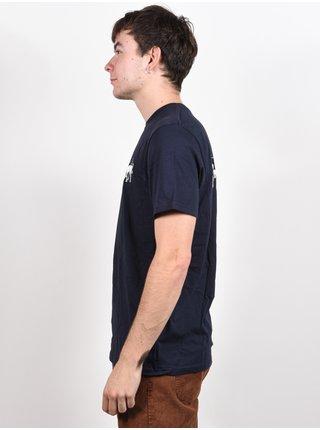 Volcom Scentsative NAVY pánské triko s krátkým rukávem - modrá