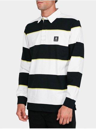 Element FTN POLO FLINT BLACK pánské triko s dlouhým rukávem - černá