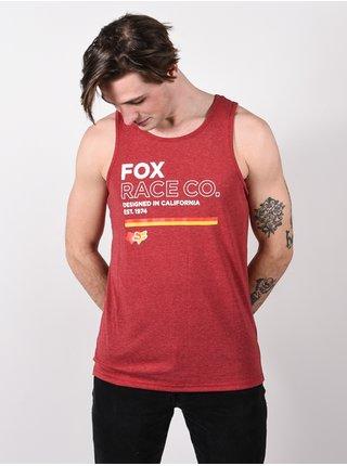 Fox Analog chilli pánská tílko - červená