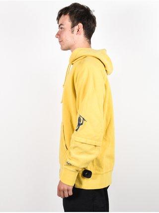 Element NO PAIN DBL SLV CEYLON YELLOW mikiny přes hlavu pánská - žlutá