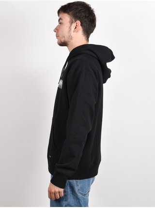 RVCA BAKER PHOTO black mikiny přes hlavu pánská - černá