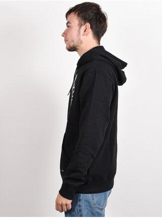 RVCA BAKER black mikiny přes hlavu pánská - černá