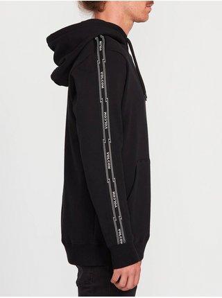 Volcom Rysin black mikiny přes hlavu pánská - černá