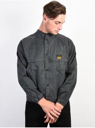 RVCA CLUBBED PIRATE BLACK podzimní bunda pro muže - šedá