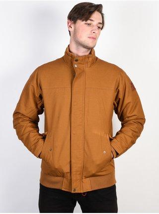 Quiksilver BROOKS RUBBER podzimní bunda pro muže - hnědá