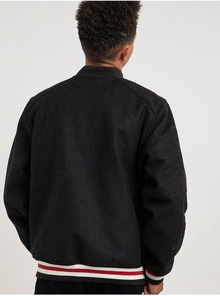 Element KH LETTERMAN FLINT BLACK podzimní bunda pro muže - černá