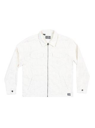 Billabong BARLOW LITE CORD BONE podzimní bunda pro muže - bílá