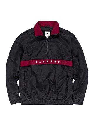 Element GOLF POP OVER FLINT BLACK podzimní bunda pro muže - černá