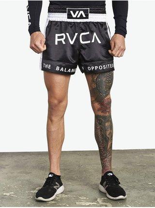 RVCA MUAY THAI black plátěné kraťasy pánské - černá