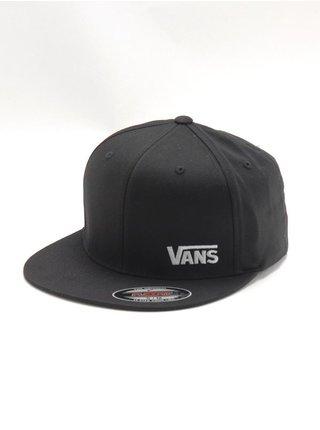 Vans SPLITZ black kšiltovka s rovným kšiltem - černá