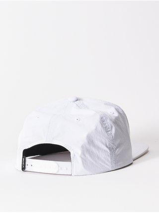 RVCA DM TIKI white kšiltovka s rovným kšiltem - bílá
