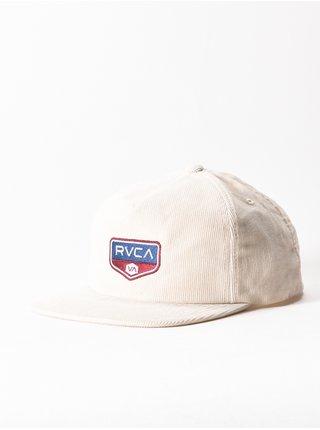 RVCA RVCA SIGN PATCH CREAM kšiltovka s rovným kšiltem - bílá
