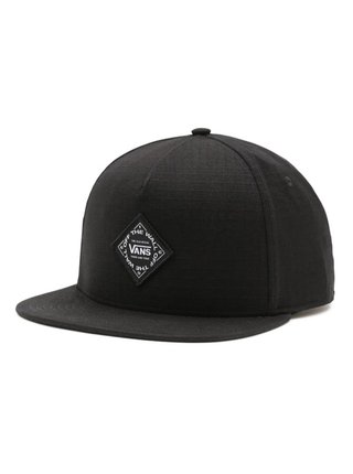 Vans PELZER black kšiltovka s rovným kšiltem - černá