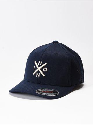 Nixon EXCHANGE ALLNAVYCREAM baseballová kšiltovka - modrá