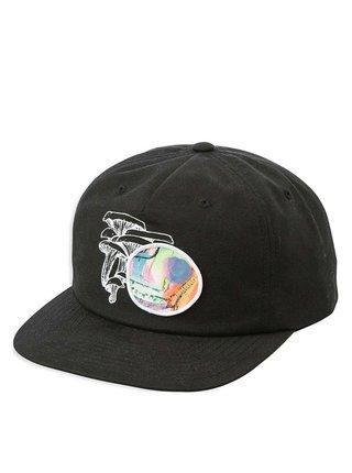 RVCA SAGE VAUGHN black baseballová kšiltovka - černá