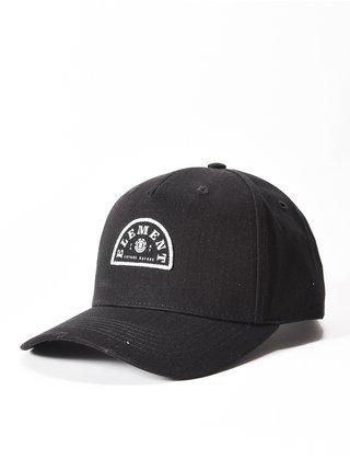 Element WILD all black baseballová kšiltovka - černá