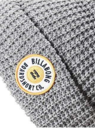 Billabong WALLED grey heather pánská čepice - šedá