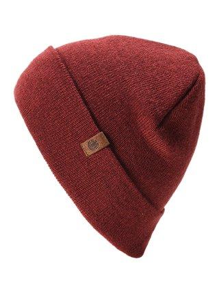 Element CARRIER SYRAH HEATHER pánská čepice - červená