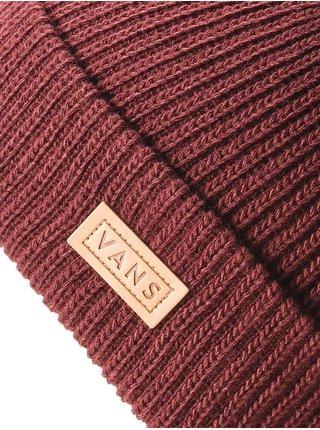 Vans EASY BOX CUFF Port Royale pánská čepice - červená
