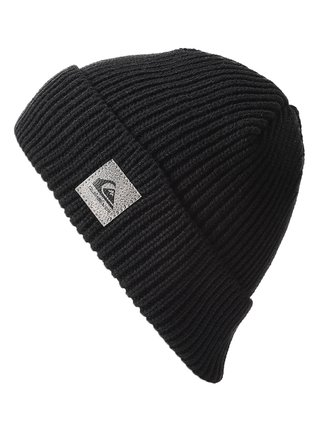 Quiksilver LONG NIGHT black pánská čepice - černá