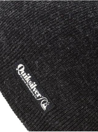 Quiksilver CUSHY 2 black pánská čepice - černá