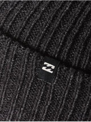 Billabong ARCADE BLACK HEATHER pánská čepice - černá