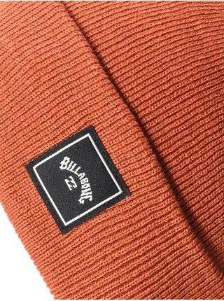 Billabong STACKED AUBURN pánská čepice - červená