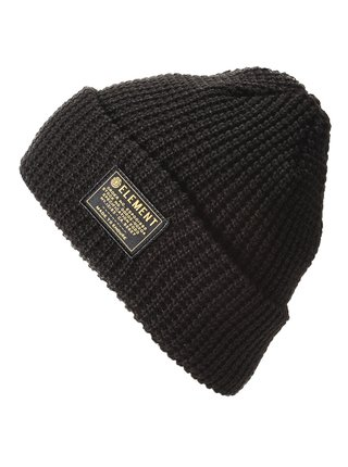Element BURDEN FLINT BLACK pánská čepice - černá