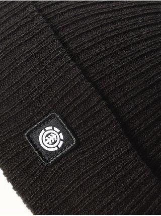 Element FLOW all black pánská čepice - černá