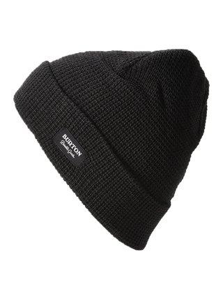 Burton WAFFLE TRUE BLACK pánská čepice - černá
