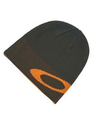 Oakley BEANIE ELLIPSE NEW DARK BRUSH pánská čepice - černá