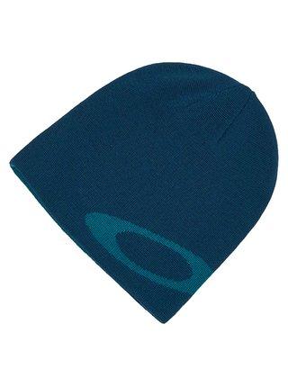 Oakley BEANIE ELLIPSE POND BLUE pánská čepice - modrá