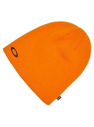 Oakley FINE KNIT BOLD ORANGE pánská čepice - oranžová