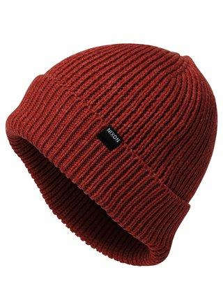 Nixon REGAIN REDHEATHER pánská čepice - červená