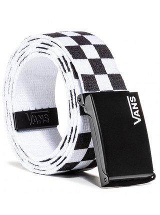 Vans DEPPSTER II WEB black/white pánský pásek - černá
