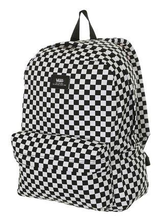 Vans OLD SKOOL III Black/White Check batoh do školy - černá