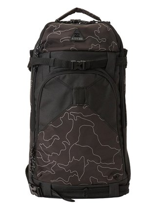 Billabong SNOWTREK black camo batoh do školy - černá