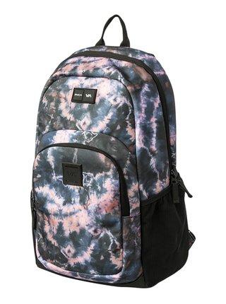 RVCA ESTATE III BLACK PURPLE batoh do školy - fialová