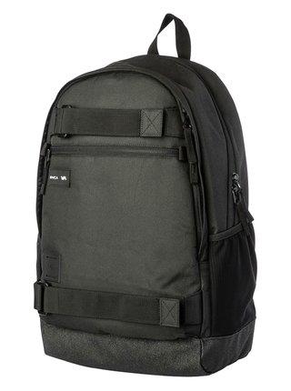 RVCA CURB III black batoh do školy - černá
