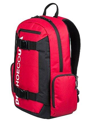Dc CHALKERS RACING RED batoh do školy - červená