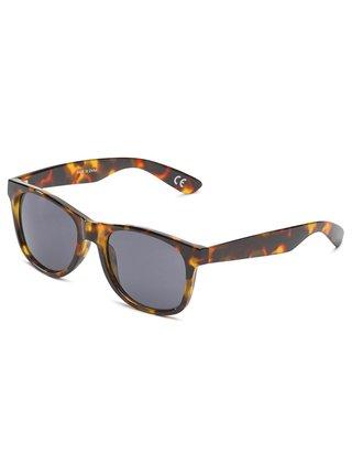 Vans SPICOLI 4 SHADES CHEETAH TORTOISE sluneční brýle pilotky - hnědá