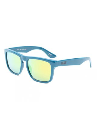 Vans SQUARED OFF MOROCCAN BLUE sluneční brýle pilotky - modrá
